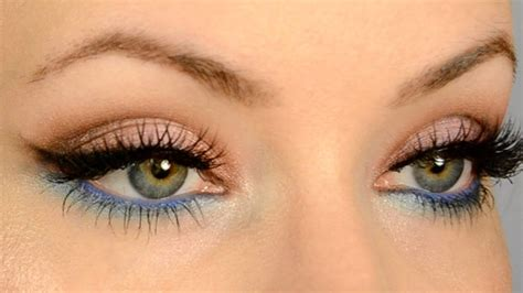 color pop makeup make your eye color pop for gold and blue makeup