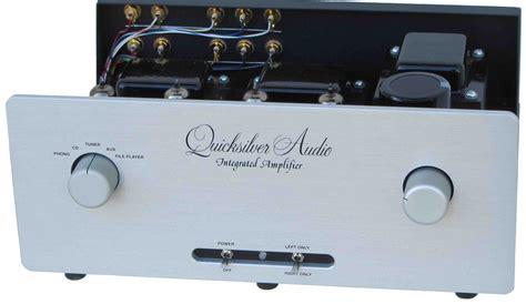 quicksilver audio integrated tube amplifier galen carol