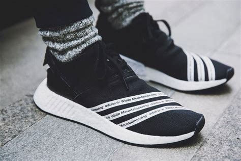 Sepatu Adidas Nmd R2 white mountaineering and adidas originals are releasing an
