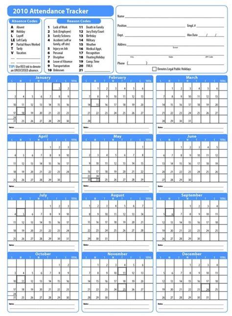 2018 Employee Attendance Tracking Calendar 2018 Calendar Employee Attendance Calendar 2018 Free Tracker Pdf Excel Template Section