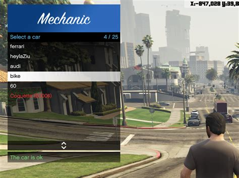 mod gta 5 multiplayer multiplayer mechanic gta5 mods com
