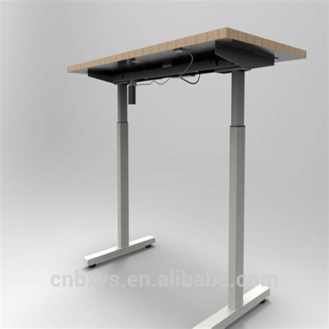 Motor Table by Single Motor Electric Adjustable Height Office Sit Stand
