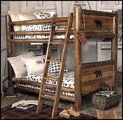 Bear Themed Home Decor by 17 Best Ideas About Rustic Bunk Beds On Pinterest Cabin