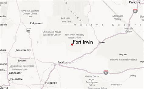 fort irwin map fort irwin weather forecast