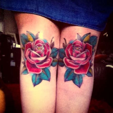 rose knee tattoo 121 traditional modern tattoos and designs