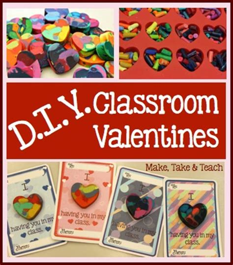 diy classroom valentines diy classroom crayon valentines make take teach