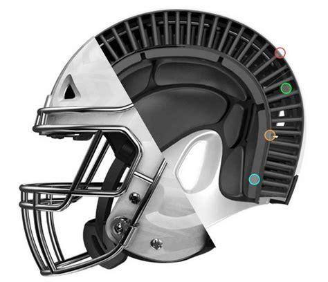new football helmet design vicis wordlesstech vicis zero1 football helmet