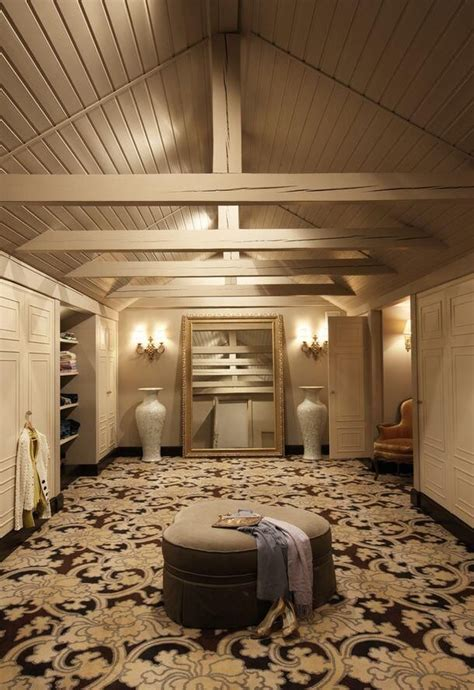 Attic Closet Design by Attic Closet Closet And Dressing Room Organization