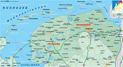 heerenveen netherlands map map of groningen frisia netherlands map in the atlas