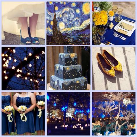 starry night theme wedding pinterest