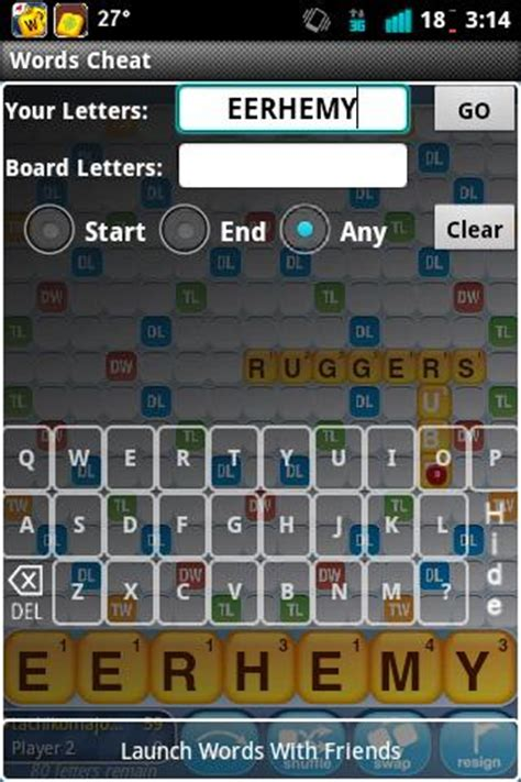 Word With Friends Scrabble Cheat Board Words With Friends Cheat List