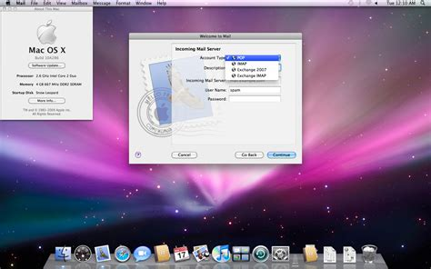 mac os x snow leopard 10 6 iso setup files for