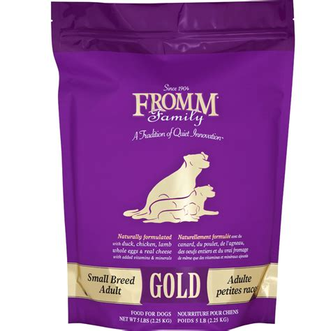 fromm gold food fromm gold food small breed 5 lb