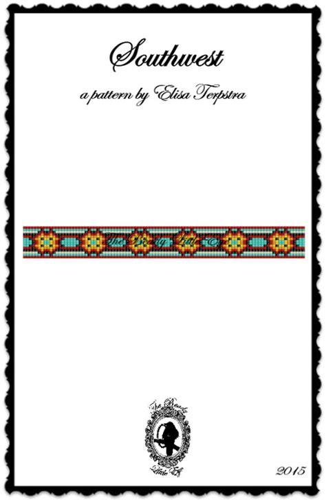 Bead Loom Pattern Seed Bead Loom Patterns by TheBeadyLittleEye