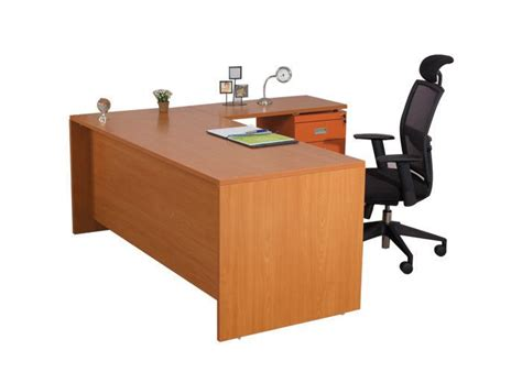 Office Table L Maribo L Shaped Office Desk Office Table Work Desk Wooden Computer Table Desktop Table