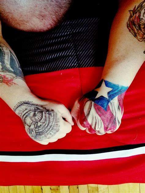 puerto rican flag tattoo collection of 25 flag frog near wrist