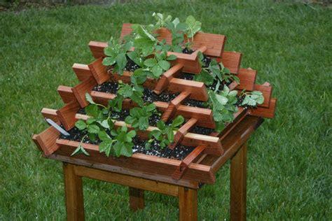 Make A Strawberry Planter by Easy To Make Garden Strawberry