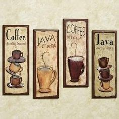 coffee themed kitchen wall decor 1000 images about coffee decor on coffee