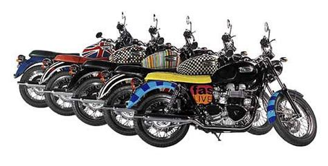 Motorrad Reimport H Ndler by Triumph Bonneville T100 By Paul Smith Truly British