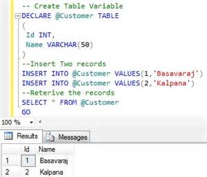 temporary tables are created in tempdb sqlhints