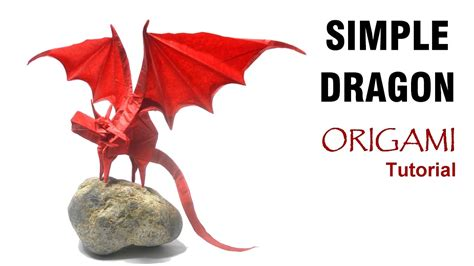 Origami Simple Shuki Kato - origami simple tutorial shuki kato 折り紙 単純なドラゴン