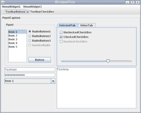 swing gui exles swing java wikipedia