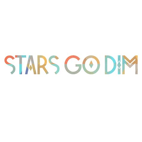 where do sts go stars go dim album artwork word label group photos