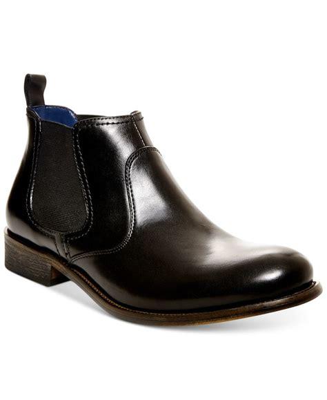 madden chelsea boot steve madden s banford chelsea boots in black for