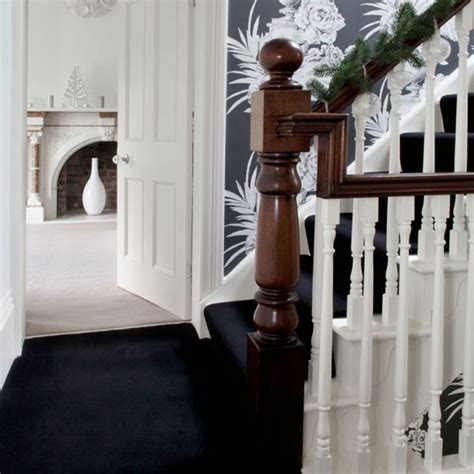 small hallway 25 beautiful homes monochrome hallway small hallways housetohome co uk
