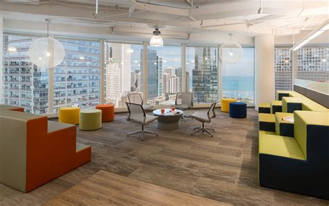 Office Chicago by A Look Inside Walker Sands New Chicago Office Officelovin