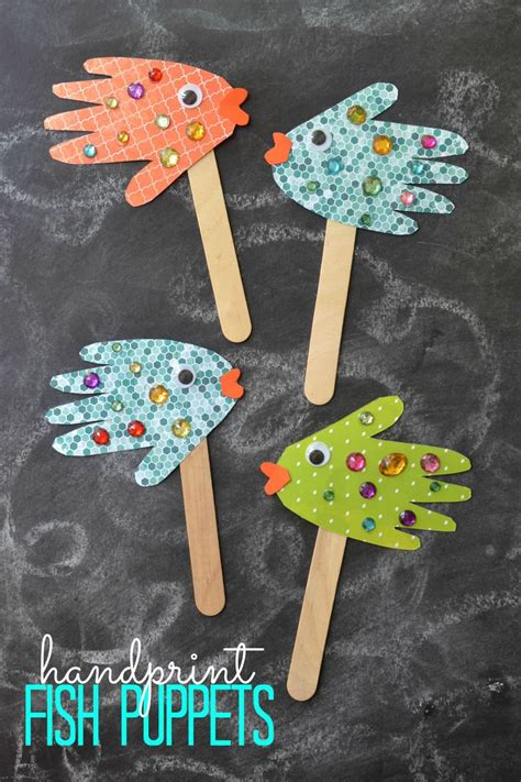 simple crafts for children 25 unique fish crafts ideas on fish crafts