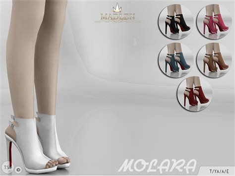 sims 4 shoes the sims resource mj95 s madlen molara boots