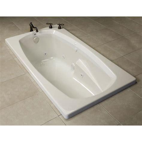 oasis bathtubs oasis tr b 240 wht ond at elegant designs drop in soaking