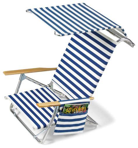 telescope casual beach chair  canopy side bag