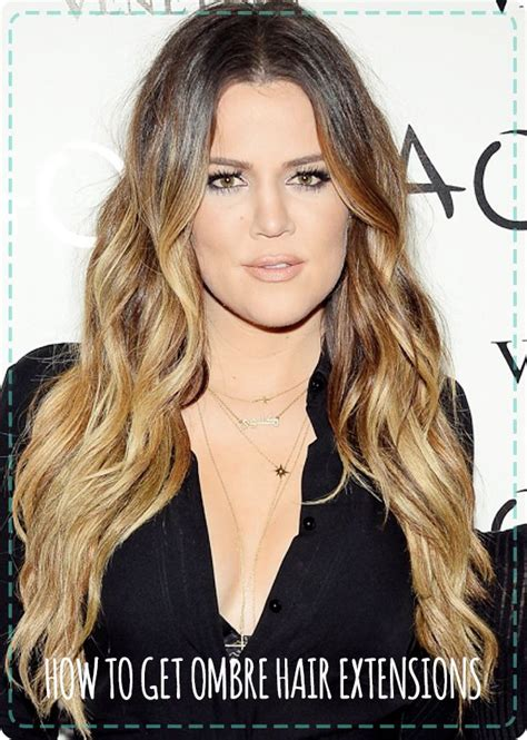 khloe kardashians ombre hair expert tips to get the look want hair like khloe kardashian then check out our
