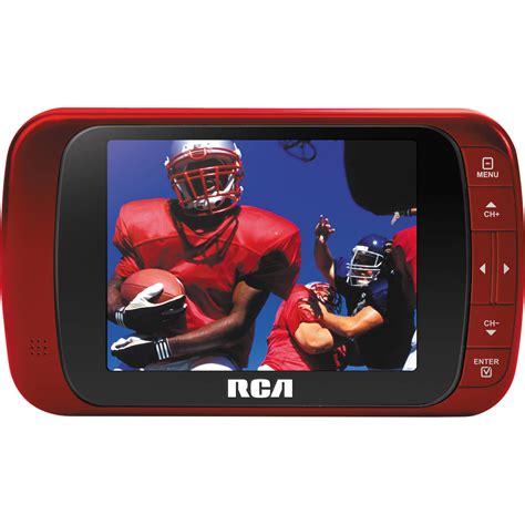 Tv Digital Mobil rca 3 5 quot led portable digital tv dht235ar b h photo