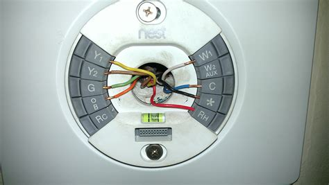 nest thermostat heat wiring color code nest free