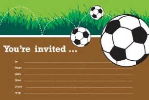 soccer birthday invitations ideas bagvania free