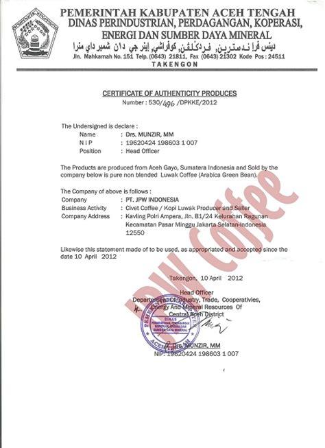 Kopi Indonesia S Best Honey Processed Blend Gayo Honey Java sertifikasi specialty coffee indonesia jpw coffee