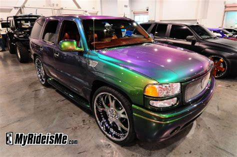 color changing car paint change sema 2010 show