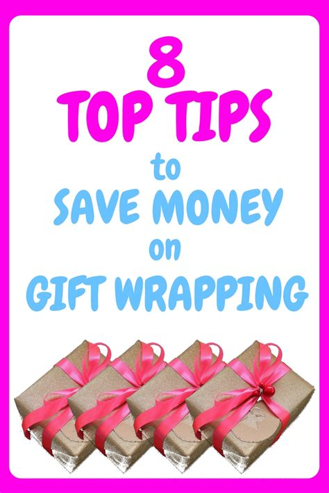 8 Tips On Saving Money For by 8 Top Tips To Save Money On Gift Wrapping