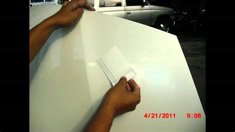 Cat Putih Danagloss White 0001 perbaikan cat mobil honda jazz baret warna putih mutiara mp4