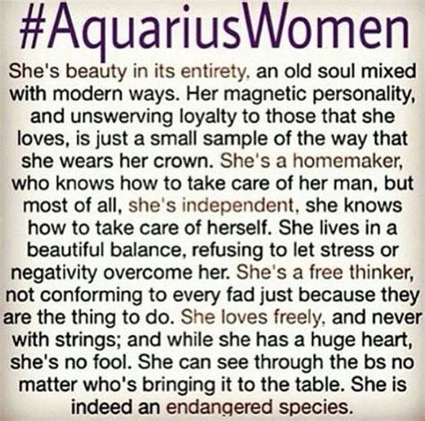 aquarius personality traits female related keywords