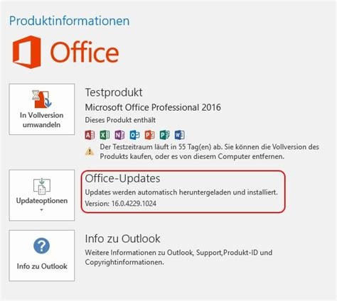 how to update office 2016