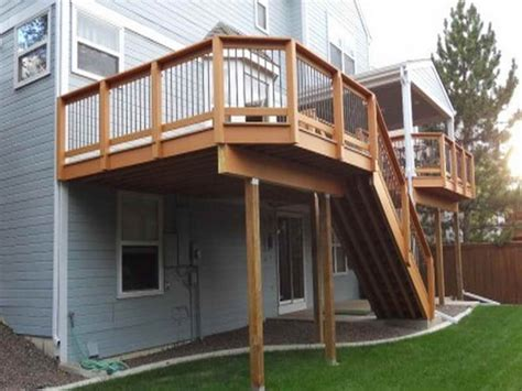 elevated deck ideas elevated deck plans building an elevated wood deck