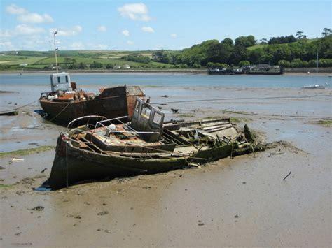 free abandoned boats uk file abandoned boats near appledore geograph org uk