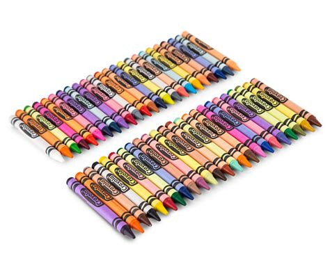 Crayola Crayons 48 4 x crayola crayons box 48 pack catch au