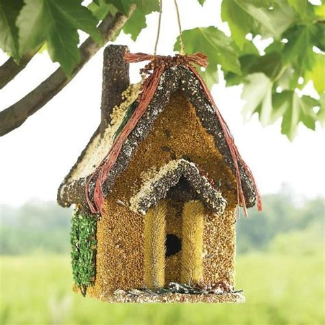 how to make edible bird houses that double as homemade