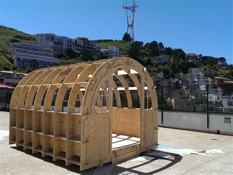 steam maker shed installation rooftop school