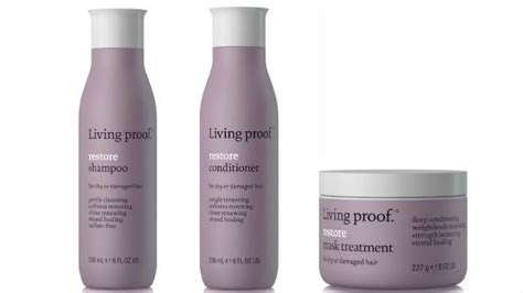 living proof hair products for wavy hair living proof restore product review naturallycurly com